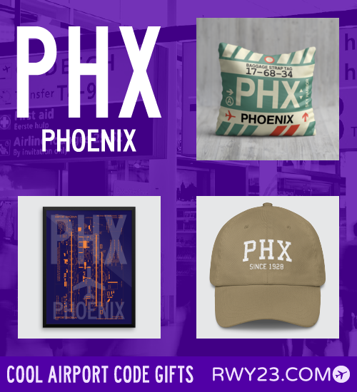 Phx Phoenix Airport Code Gifts 500x550 01 The Great Embassy