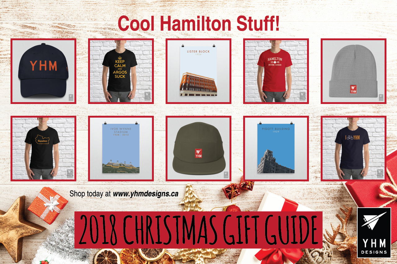 7ffaed10bc0 2018 Christmas Gift Ideas for Travellers - Hamilton Ontario Swag - YHM  Designs